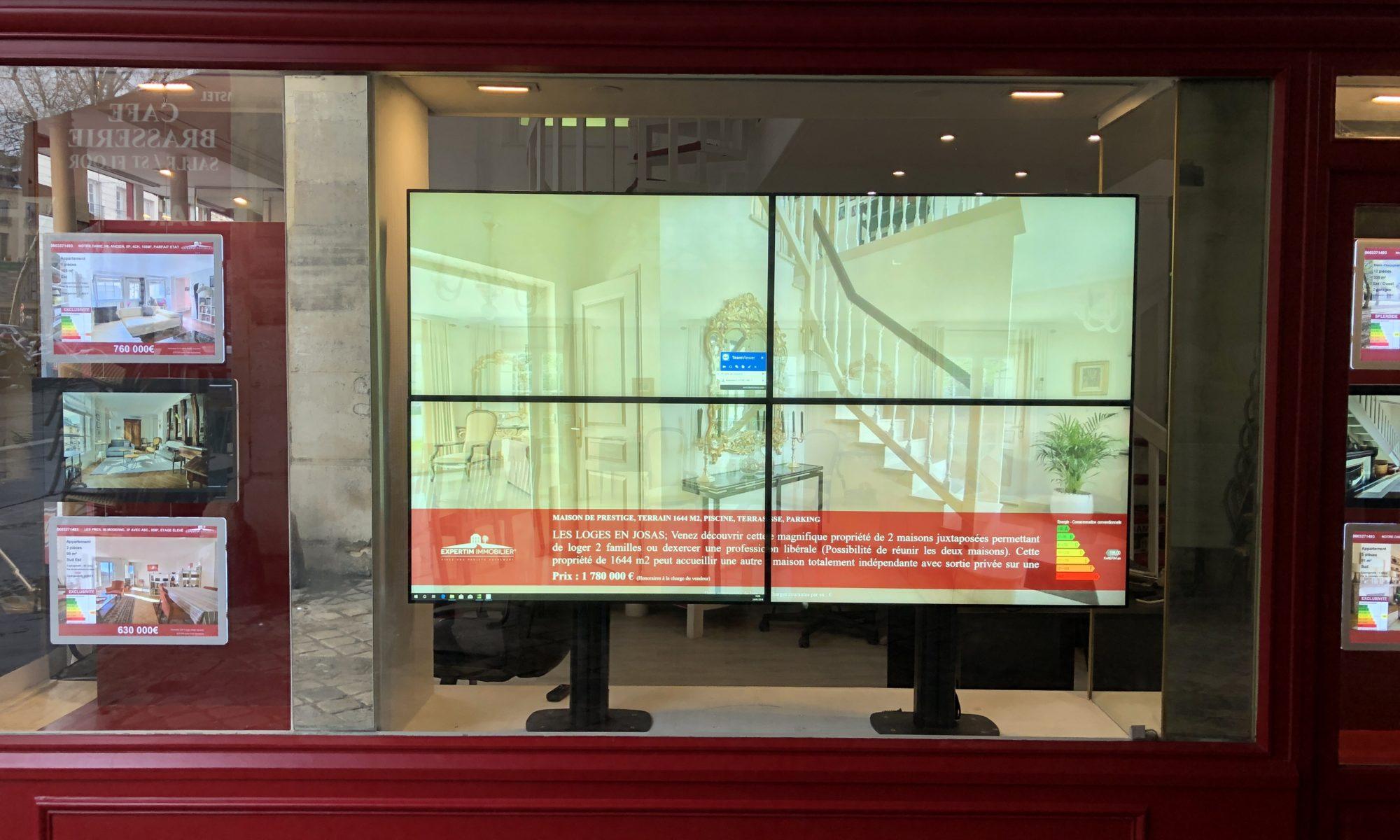 Digital signage installations