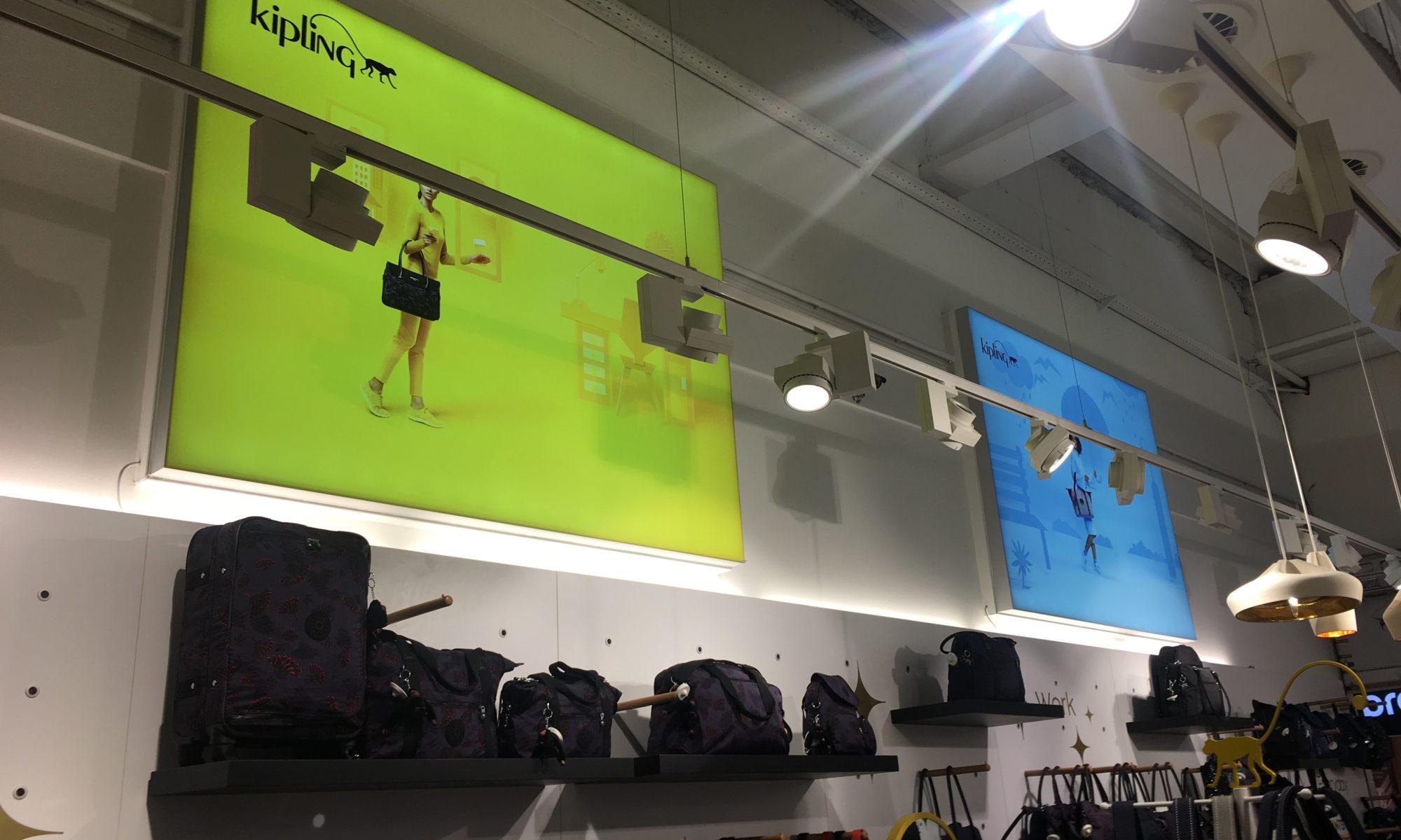 Retail installations