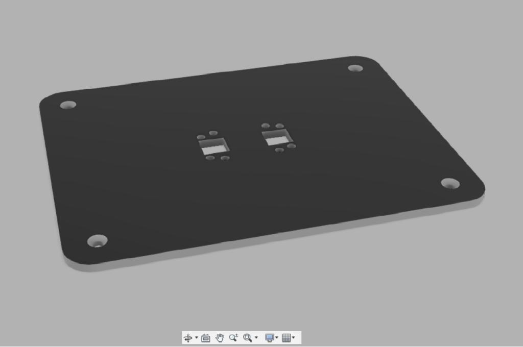 Embase fixation sol sur mesure pour support écrans LCD